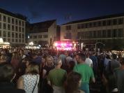 Die Bühne am Hauptmarkt