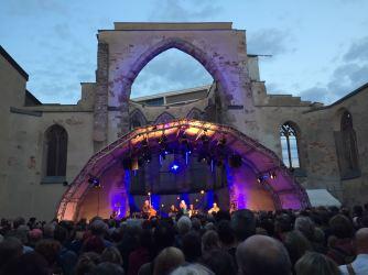 Die Bühne in der Katharinenruine